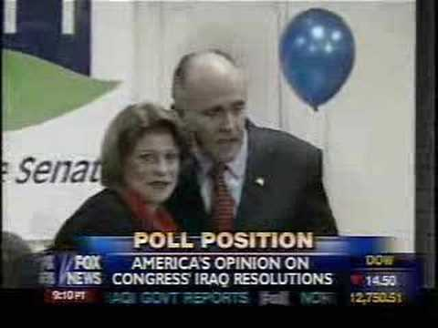 Polls on Iraq Resolution and watch McCain drop like a rock