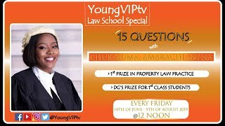 BEST STUDENT IN PROPERTY LAW PRACTICE (2017/2018) | NIGERIAN LAW SCHOOL