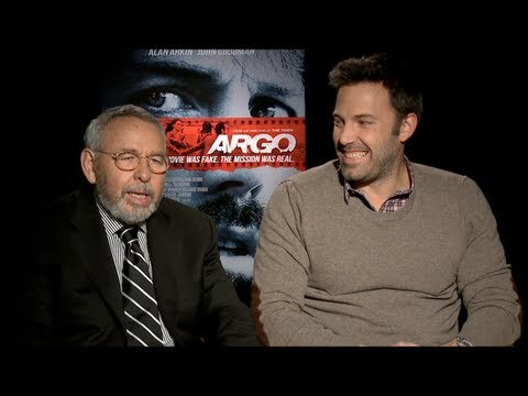Ben Affleck and Tony Mendez Interview: ARGO