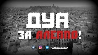 Дуа за Алеппо ! | Шейх Али ат-Тувейджири ᴴᴰ
