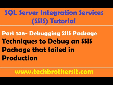 SSIS Tutorial Part 146- How To Debug An SSIS Package
