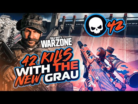 42 SOLO KILLS WITH THIS *INSANE* NEW GRAU CLASS!! MY NEW RECORD! (WARZONE)