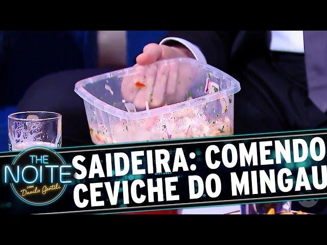 The Noite (29/09/16) - Saideira da Noite: O Ceviche do Mingau