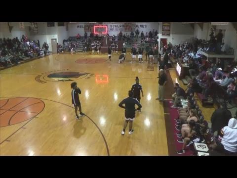 Choctaw Central High School Girls' Basketball: Choctaw Central vs Raleigh High School