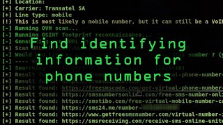 Find Information from a Phone Number Using OSINT Tools [Tutorial]