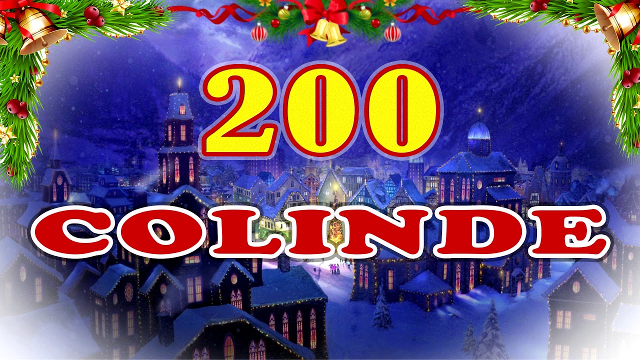 200 colinde pentru cel mai frumos Craciun