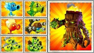 Every Peashooter vs All Zombot Plants vs Zombies 2 Gameplay - Fire Pea, Pea Pod, Electric Pea PVZ 2