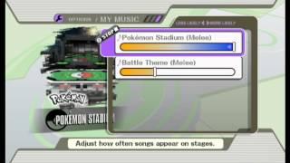 Super Smash Bros. Brawl - Pokemon Stadium Song from Super Smash Bros. Brawl (WII) - User video