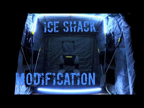 ICE Fishing Shack LED Light Modification : DIY Frabill / Clam