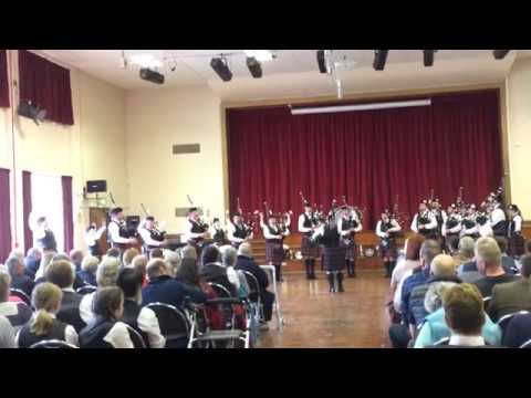 Portlethen & District Pipe Band: NOS Indoors - Huntly 2017 (Grade 2 Medley)