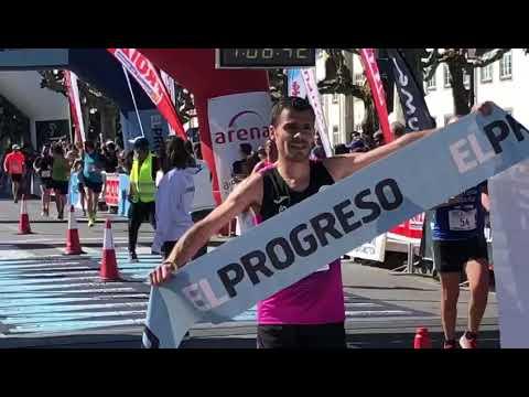 Nuno Costa, ganador del III Medio Maratón Cidade de Lugo