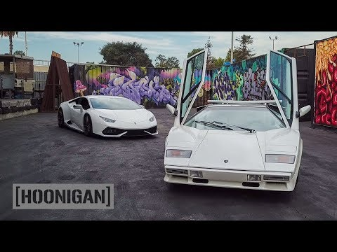 [HOONIGAN] DT 175: 1100hp Huracan Vs Countach