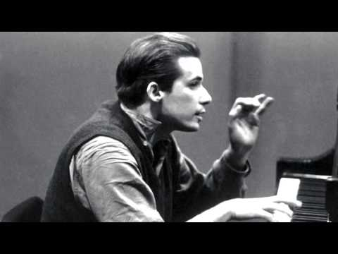 Complete tapes of Glenn Gould testing various pianos [From Library and Archives Canada]