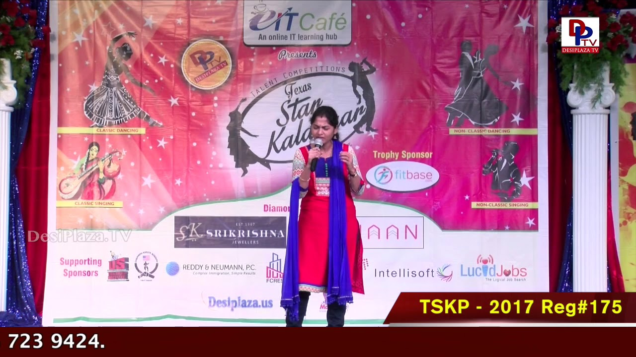 Finals Performance - Reg# TSK2017P175 - Texas Star Kalakaar 2017
