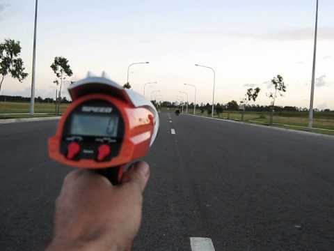 Pocket bike out of the box at top speed