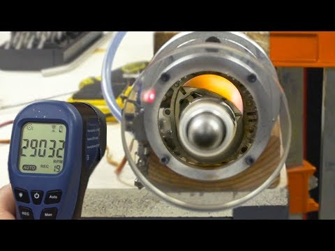 See Thru Rotary Engine MAX RPM - 29000 (Wankel Engine)