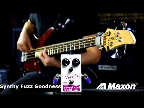 0578a3db36c Maxon FV10 Fuzz Elements Void Bass Fuzz Overdrive Demo (feat. WilHelmus.