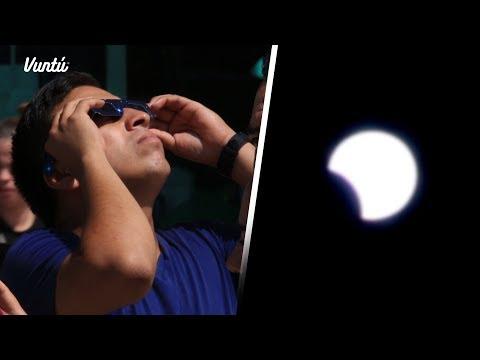 Así se vivió el eclipse en México