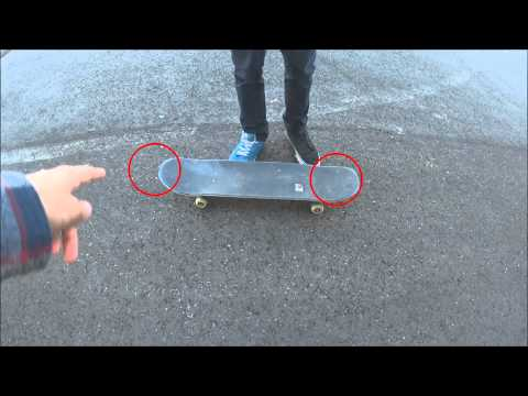 Ollie Tutorial/ Skateboard Springen (Teil1/2) Basics   *erklärt Von Einem Pro Skater*