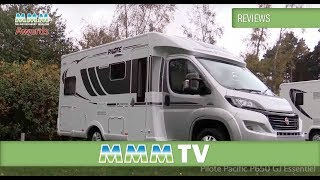 MMM TV motorhome review - Pilote Pacific P650 GJ Essentiel