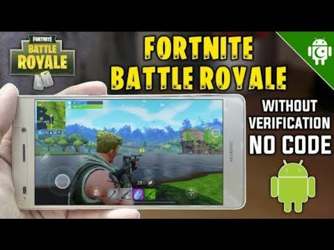 Fortnite ANDROID Is HERE!   NO HUMAN VERIFICATION Fortnite App FREE DOWNLOAD OFFICIAL RELEASE APK