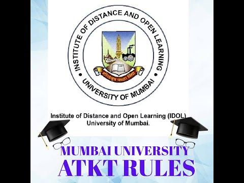 Atkt Rules Mumbai University