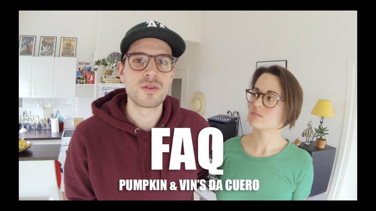 FAQ Pumpkin & Vin'S da Cuero
