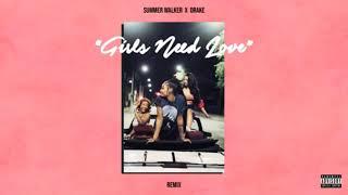 SUMMER WALKER - GIRLS NEED LOVE FT. (DRAKE) AUDIO LOOP 💐🎈