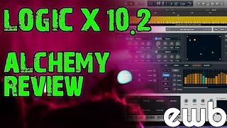 Logic 10.2 - How to Use Alchemy Synth - First LOOK