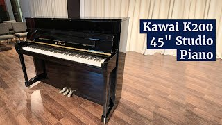 "Kawai K200 45"" Studio Piano 