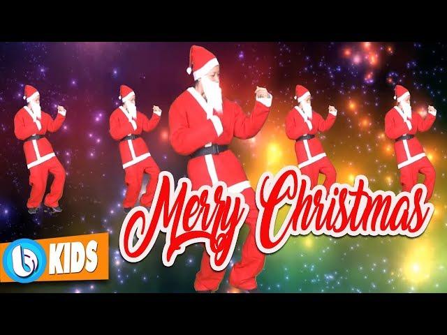 We Wish You A Merry Christmas - Santa Claus Dance   Nhạc Giáng Sinh Thiếu Nhi