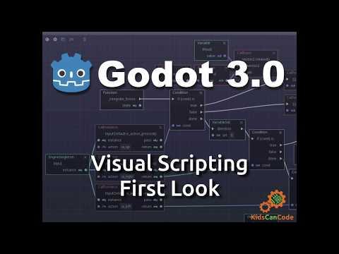 Godot 3.0: Visual Scripting First Look