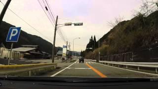 【岐阜県】車載動画 岩屋ダム→チャオ御岳→国道41南下 1 / 4
