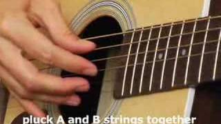 Video How to play Acoustic Guitar Lesson basic finger picking download MP3, 3GP, MP4, WEBM, AVI, FLV Agustus 2018