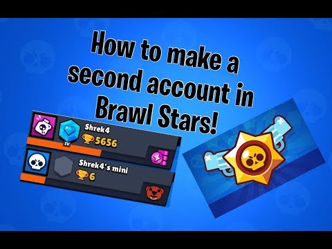 How To Make A Second Account In Brawl Stars!