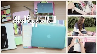 One of annemariechase's most viewed videos: Back to School Supplies Haul 2014!