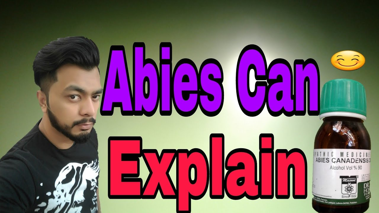 Abies Canadensis 30 Homeopathic Medicine Fully Explain Youtube