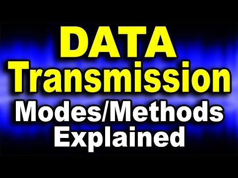 DATA Transmission Modes Explained ft. Simplex, Duplex, Synchronous, Asynchronous, Serial, Parallel