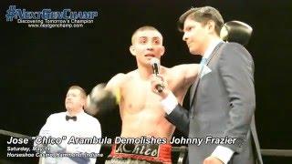 "Super Lightweight Jose ""Chico"" Arambula Hits Double Digits in Wins"