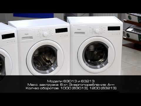 Whirlpool стиральные машины серии AWS