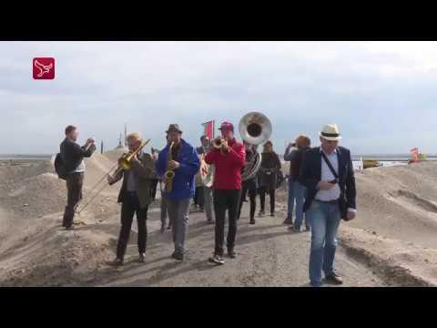 Za 08/09: Eerste eiland Marker Wadden officieel geopend