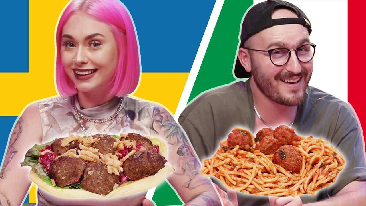 Swedish Vs Italian Meatballs Youtube