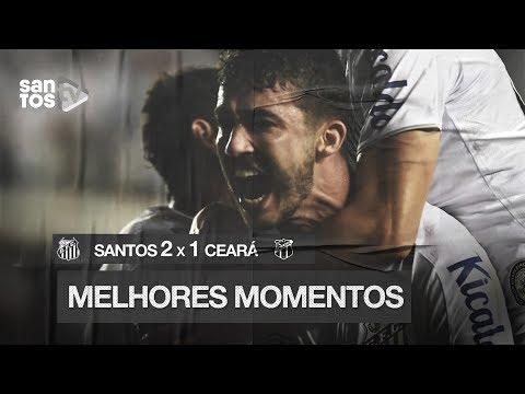 SANTOS 2 X 1 CEARÁ | MELHORES MOMENTOS | BRASILEIRÃO (17/10/19)