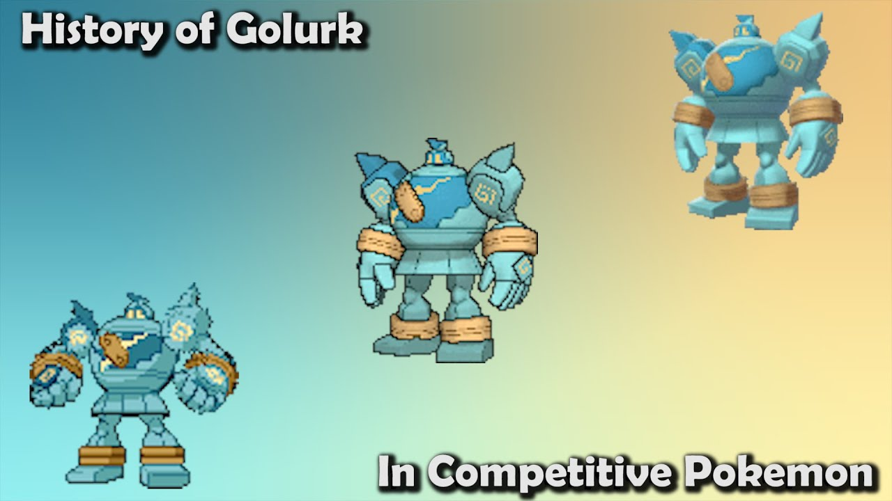 How GOOD was Golurk ACTUALLY? - History of Golurk in Competitive Pokemon