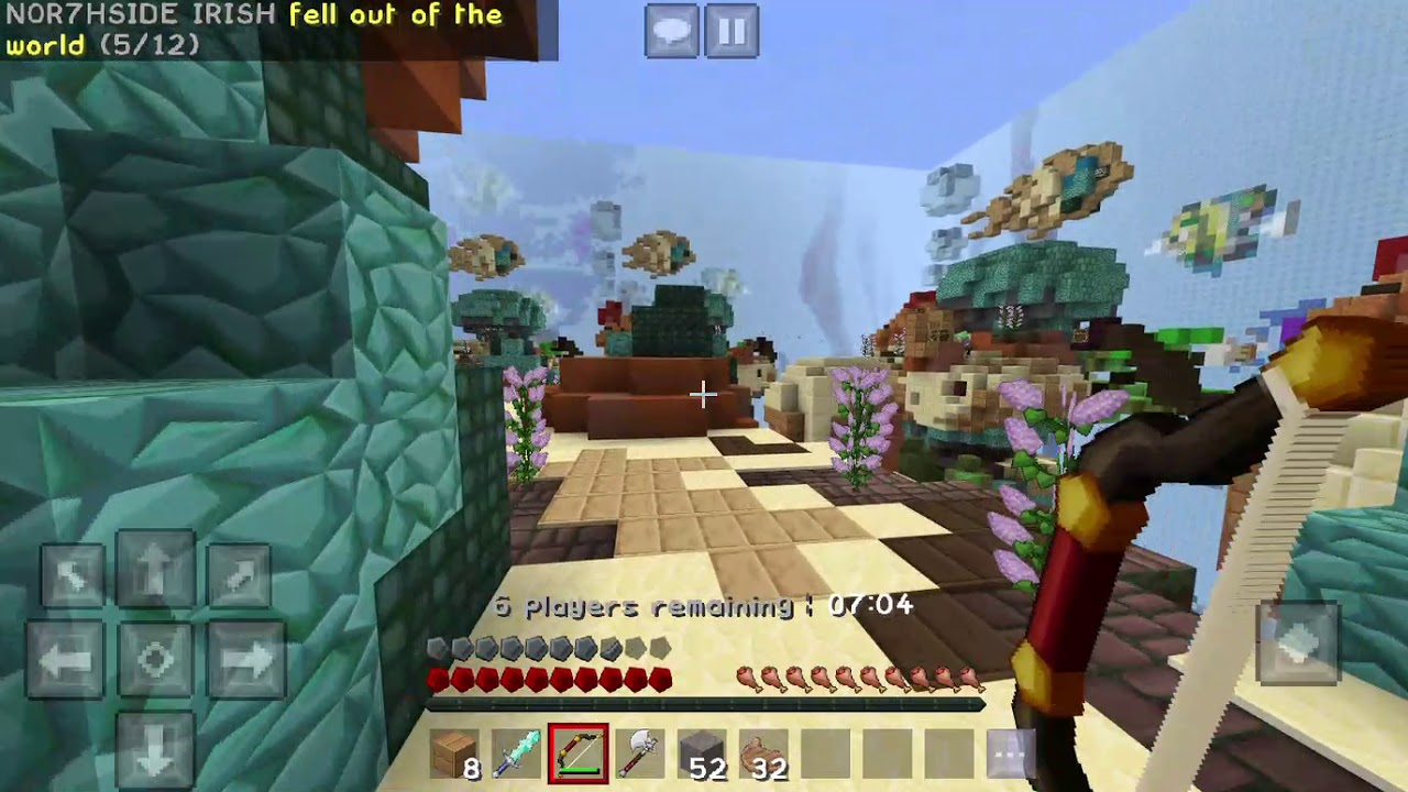 minecraft pc touch controls