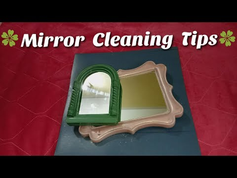 5 Tips to clean mirror ki safai |clean mirror and glass at home | Indian Mirror Cleaning Routine