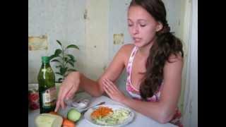 Овощной салат для похудения