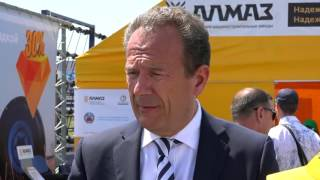 Техника АЛМАЗ — импортозамещение в действии: День Сибирского поля-2015