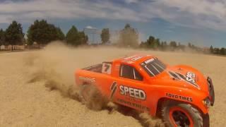 My new Traxxas Slash 2WD off roading!
