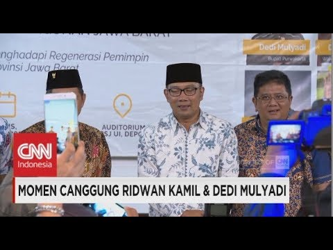 Momen Canggung Ridwan Kamil U0026 Dedi Mulyadi